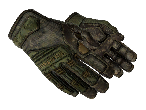Specialist Gloves | Forest DDPAT (Battle-Scarred)