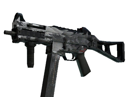 UMP-45 | Arctic Wolf (Battle-Scarred)