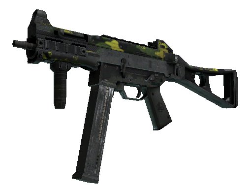 UMP-45 | Riot (Battle-Scarred)