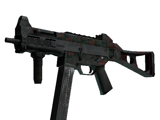 UMP-45 | Day Lily (Battle-Scarred)
