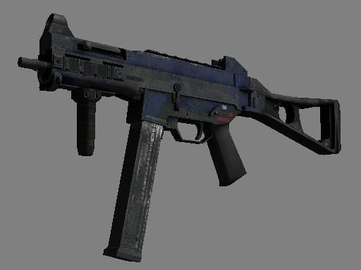 UMP-45 | Indigo (Battle-Scarred)