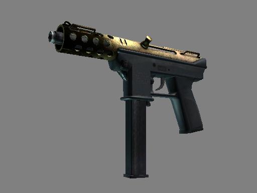 Tec-9 | Brass (Battle-Scarred)