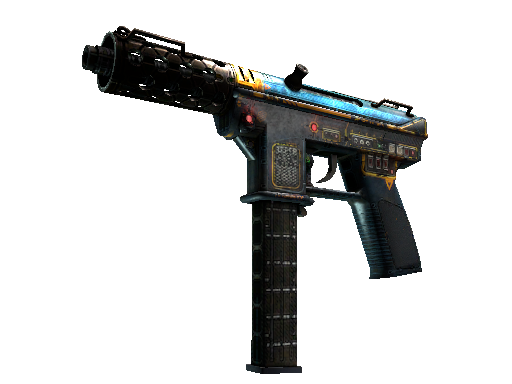 Tec-9 | Remote Control (Battle-Scarred)