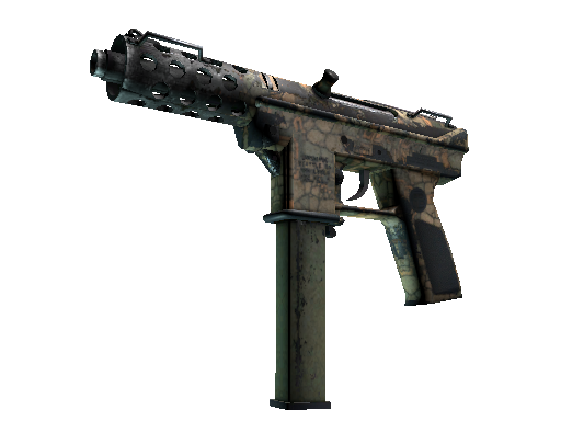 Tec-9 | Blast From the Past (Battle-Scarred)