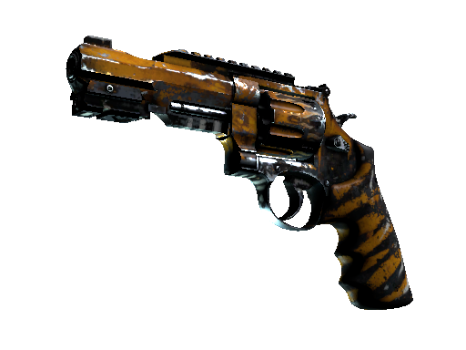 R8 Revolver | Skull Crusher (Battle-Scarred)