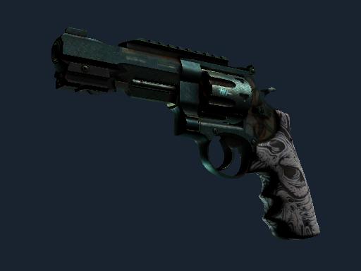 R8 Revolver   Bone Forged (Battle-Scarred)
