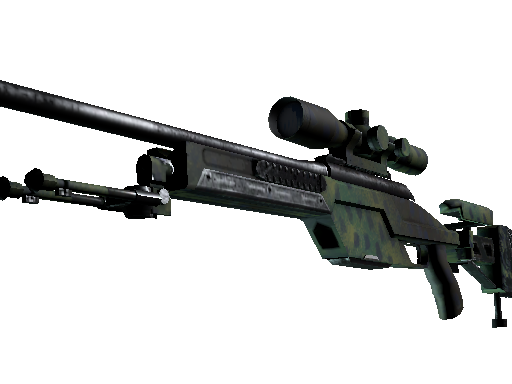 SSG 08 | Jungle Dashed (Factory new)