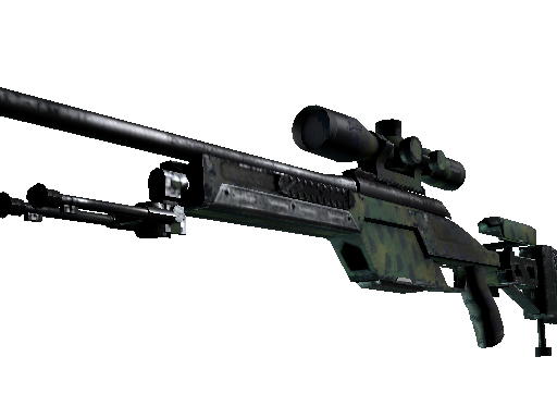 SSG 08 | Jungle Dashed (Field-Tested)