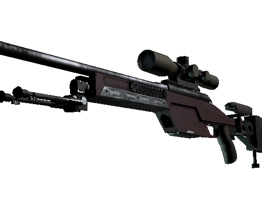 SSG 08 | Red Stone (Factory new)