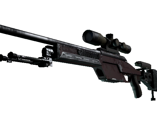 SSG 08 | Red Stone (Field-Tested)