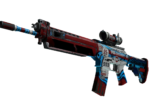 SG 553 | Integrale (Battle-Scarred)