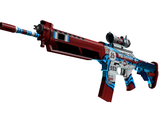 SG 553 | Integrale (Factory new)