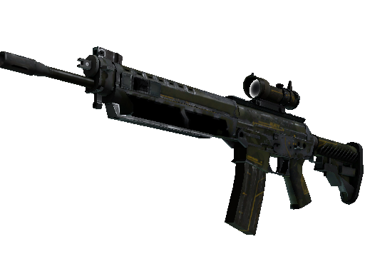 SG 553 | Atlas (Battle-Scarred)