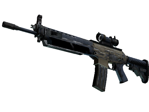 SG 553 | Tornado (Battle-Scarred)