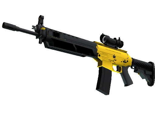 SG 553 | Bulldozer (Mininal Wear)