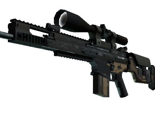 SCAR-20 | Contractor (Battle-Scarred)
