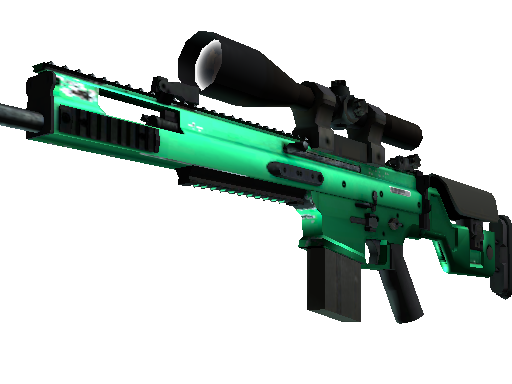 SCAR-20 | Emerald (Mininal Wear)