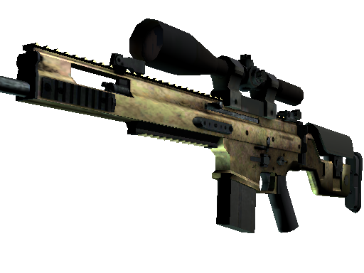 SCAR-20 | Brass (Battle-Scarred)