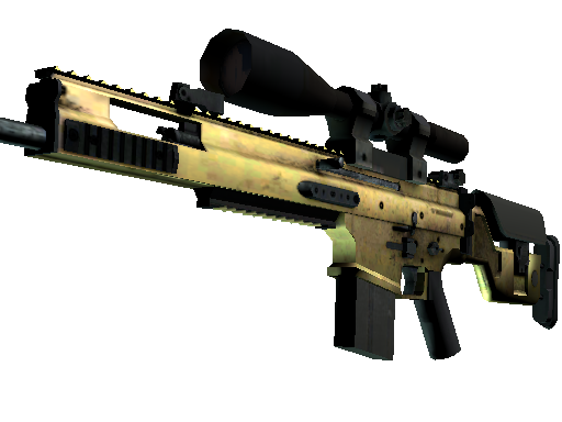 SCAR-20 | Brass (Factory new)