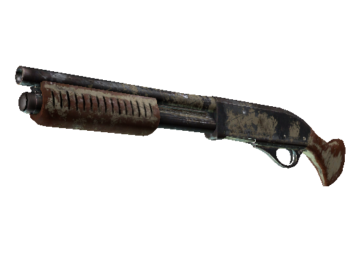 Sawed-Off | Snake Camo (Battle-Scarred)