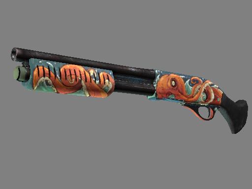 Sawed-Off | The Kraken (Factory new)