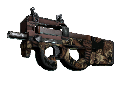 P90 | Tiger Pit (Field-Tested)