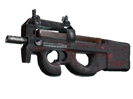 P90 | Fallout Warning (Battle-Scarred)