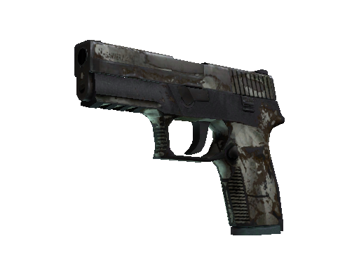 P250 | Bone Mask (Battle-Scarred)