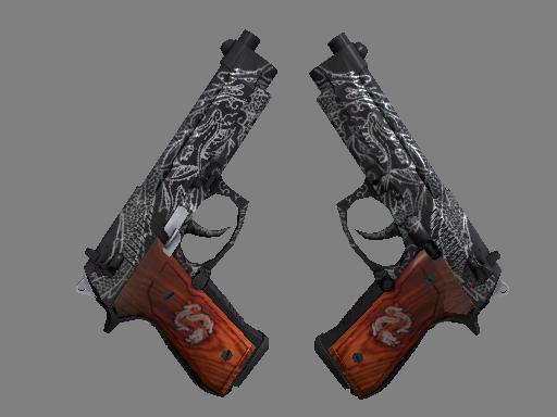Dual Berettas   Dualing Dragons (Factory new)
