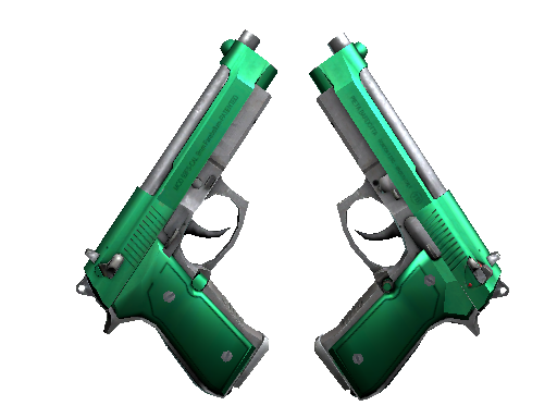 Dual Berettas | Emerald (Factory new)