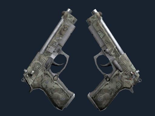 Dual Berettas | Heist (Field-Tested)