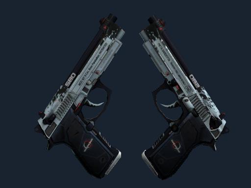 Dual Berettas | Dezastre (Battle-Scarred)