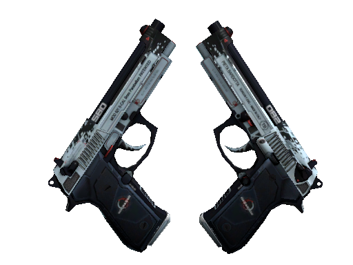 Dual Berettas | Dezastre (Field-Tested)