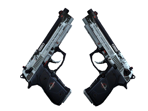 Dual Berettas | Dezastre (Factory new)