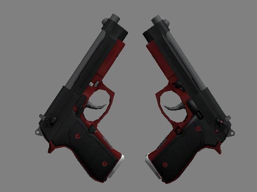 Dual Berettas | Panther (Factory new)