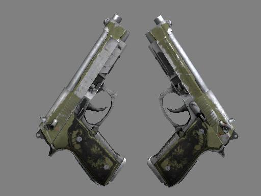 Dual Berettas | Colony (Battle-Scarred)
