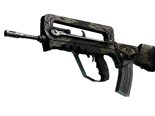 FAMAS | Djinn (Battle-Scarred)
