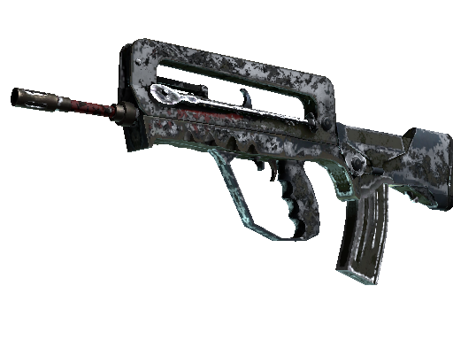 FAMAS | Spitfire (Battle-Scarred)
