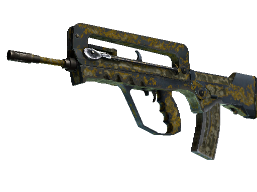FAMAS | Macabre (Battle-Scarred)