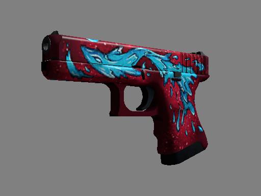 Glock-18 | Water Elemental (Factory new)