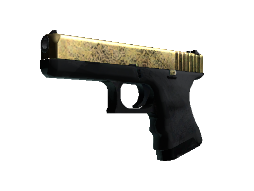 Glock-18 | Brass (Mininal Wear)