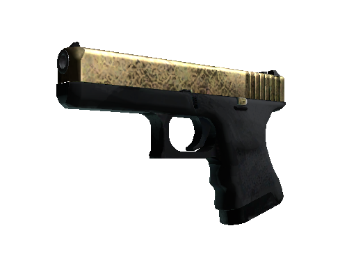 Glock-18 | Brass (Well-Worn)
