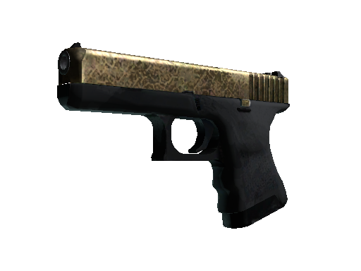 Glock-18 | Brass (Battle-Scarred)