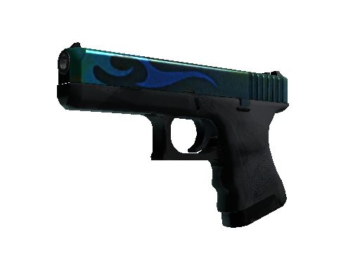 Glock-18 | Bunsen Burner (Battle-Scarred)