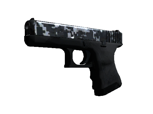 Glock-18 | Steel Disruption (Field-Tested)