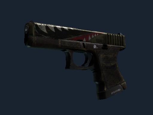Glock-18 | Warhawk (Battle-Scarred)