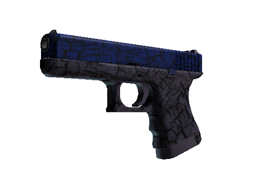 Glock-18 | Blue Fissure (Factory new)