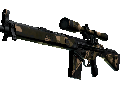 G3SG1 | Black Sand (Battle-Scarred)
