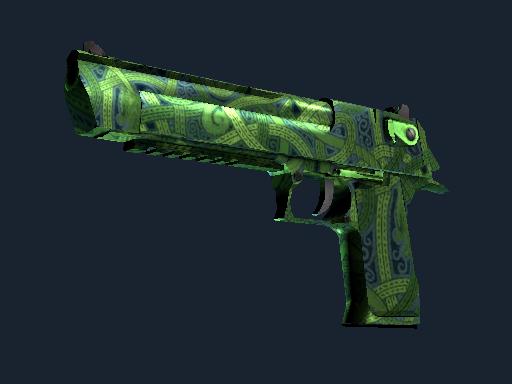 Desert Eagle   Emerald Jörmungandr (Factory new)