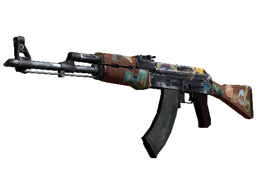 AK-47 | Jet Set (Mininal Wear)